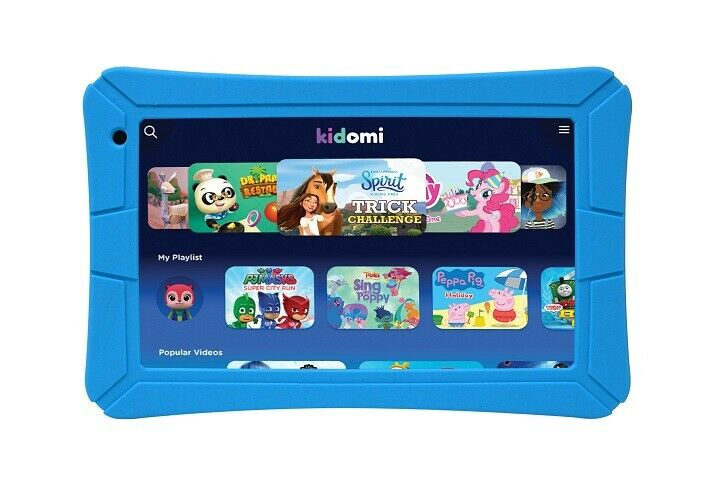 """HighQ 7"""" Learning Tab Jr. featuring Kidomi, Gel Case Included, Quad Core   Ebay"""