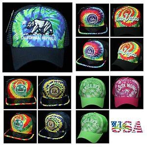 c8b7aeeea7b7 Image is loading Baseball-Cap-California-Republic-Mesh-Trucker-Caps -Snapback-