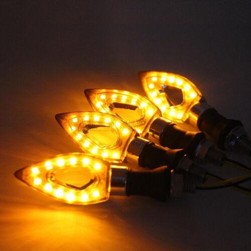 4x 12 LED Turn Signal Lights For Yamaha V-Star V Star XVS 1300 950 Tourer Deluxe