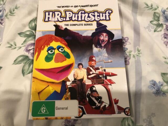 H. R. Pufnstuf - Complete Series (DVD, 2007, 3-Disc Set) Rare