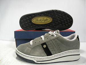 CONVERSE-ATHLETIC-MATCHUP-SUEDE-SKATE-VINTAGE-MEN-SHOES-GREY-12773-SIZE-9-5-NEW