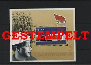 Germany-GDR-vintage-yearset-1976-Mi-Block-45-Postmarked-Used-More-See-Shop