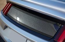 2015 2016 2017 Ford Mustang CARBON FIBER Decklid Panel BLANK Trunk Blackout