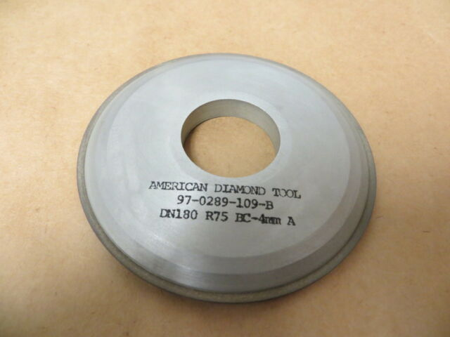 "6/"" x 15//32/"" x 32 mm 4A2P Diamond Facing Grinding Wheel 180 Grit 100 Con New USA"