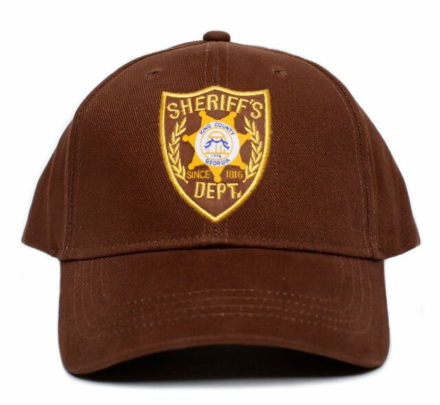 304d516f302fc The Walking Dead Sheriff Grimes Costume Hat Cap Brown Adult One Size Fits  Most