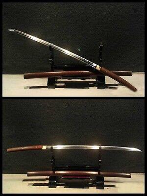 High Quality Japanese Full Tang Samurai Sword Katana Carbon Steel HuaLi Wood