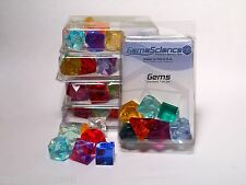 "Gamescience Assorted ""Gem"" Precision 7pc Polyhedral Dice Set Zocchi d20 D&D NEW!"