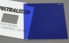 "4"" x 4"" 100mm Square RESIN FILTER SPECTRALSTAR PRO WRATTEN 80A BLUE COLOR CORREC"