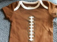 Football Outfit Infant Clothes Newborn Baby Sport Creeper Boy 0 3 6 9 Months