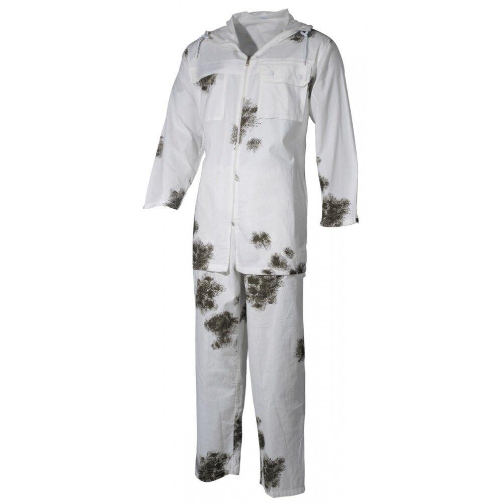 BW Traje 2 piezas pantalones chaqueta nieve invierno  Tarn camuflaje nuevo  garantía de crédito