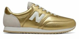 New-Balance-Women-039-s-COMP-100-Shoes-Gold-with-Tan