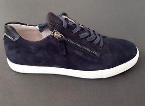 Details zu Gabor Comfort Damen Sneaker Sport Schuhe 86.488.46 dunkelblau ocean blau NEU