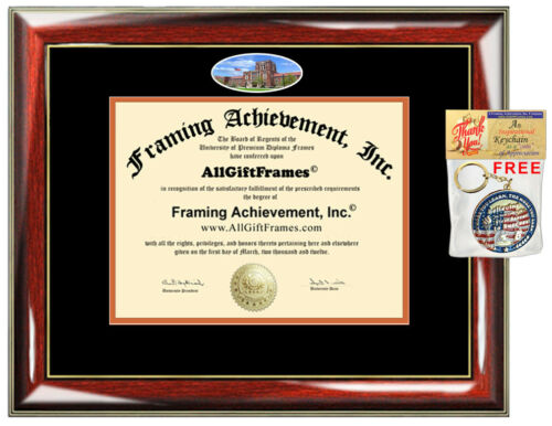 University of Tennessee Knoxville Diploma Frame Degree UTK Certificate Gift Grad