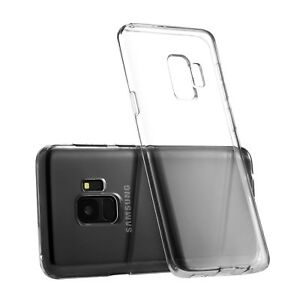 new style 69835 05b16 Samsung Galaxy S9 Case S9 Plus Case Silicone Rubber Clear TPU Cover ...