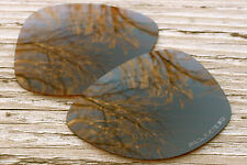 Amber Brown Polarized Custom Replacement Sunglass Lenses for Oakley Dispatch 2