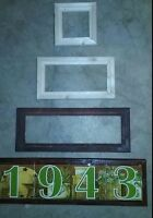 Frames For Ceramic Tile Address House Door Numbers Markers Hotel Sign Plaque