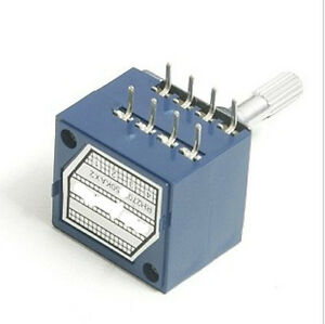 1pc-Potentiometer-100K-Log-ALPS-Audio-Amp-Volume-Control-Pot-Stereo-W-Loudness