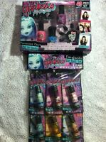 Ghoulicious Monster High Gift Set Lip Balm Nail Polish Girl Or Preteen Gift Idea