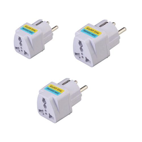 US UK AU To EU Europe Travel Charger Power Adapter Converter Wall Plug Wholesale