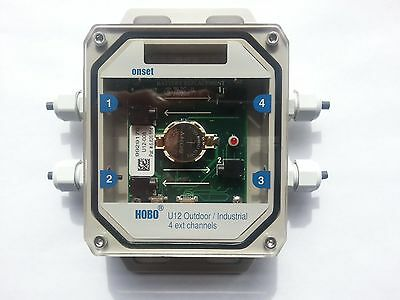 U12-008 HOBO U12 4 Channel Outdoor External Data Logger