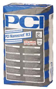 Pci Nanocret R3 25 Kg Universal Reparaturmortel Fur Betonbauteile