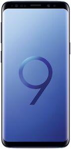 """Samsung Galaxy S9 DUAL DOPPIA SIM Blu Blue Coral Blue 5.8"""" 64 GB GAR ITALIA"""