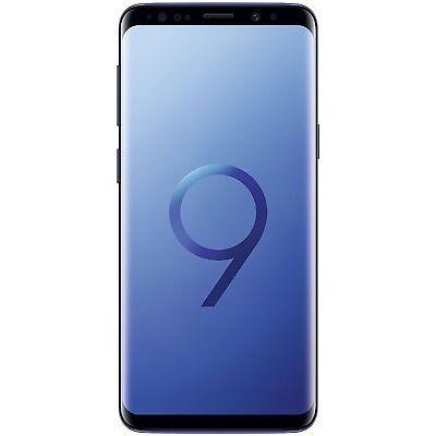 """SAMSUNG GALAXY S9 64GB MONO SIM BLU BRAND CORAL BLUE 5.8"""" 64 GB GAR ITALIA"""