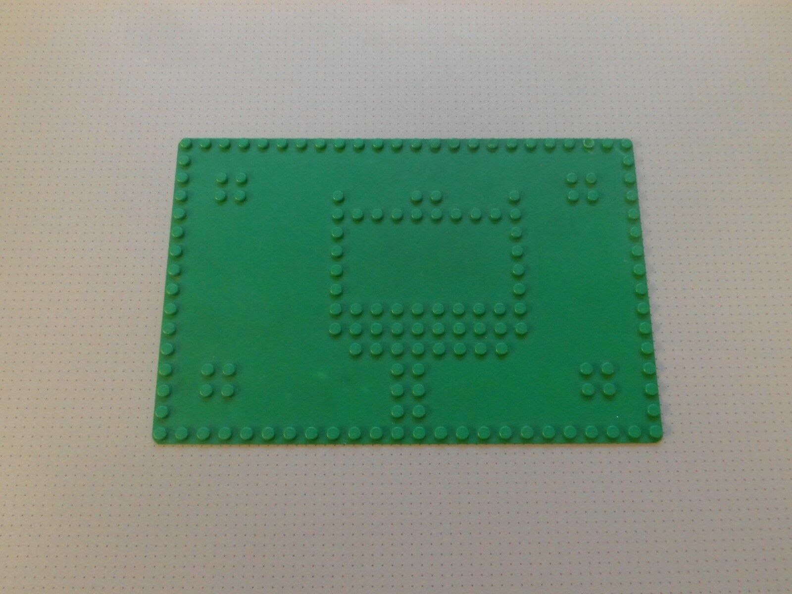 Lego base plate 16 x 24 Studs vert-RARE 1960's - from set 080 (0903)