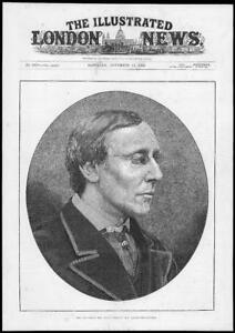1884-Antique-Print-Portraits-Henry-Fawcett-Postmaster-General-166
