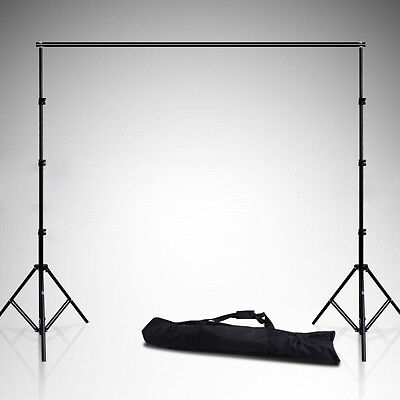 Photo Studio Heavy Duty Background Muslin Paper Backdrop Support Stand System