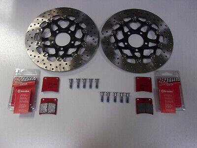 Sinter Bremsbeläge Bremse vorne komplett Suzuki GSR 750 Brembo Bremsscheiben