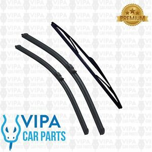 Mazda-3-BK-Hatchback-JAN-2004-to-SEP-2009-Windscreen-Wiper-Blades-Set