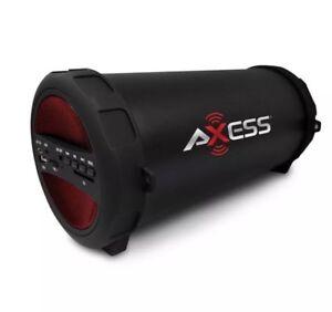 BRAND NEW AXESS SPBT1079US Portable Bluetooth Speaker