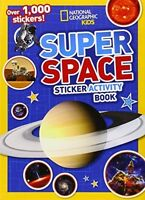 Nat-geo Kids: Super Space Activity Book, Children Stickers Learning Science on sale