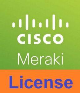 DéSintéRessé 1 Year Cisco Meraki Mx100 Advanced Security License And Support Cloud Controller