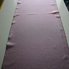 Vintage Kimono Quilt Silk Fabric Blue Flower Art Classic Style 102cm K90