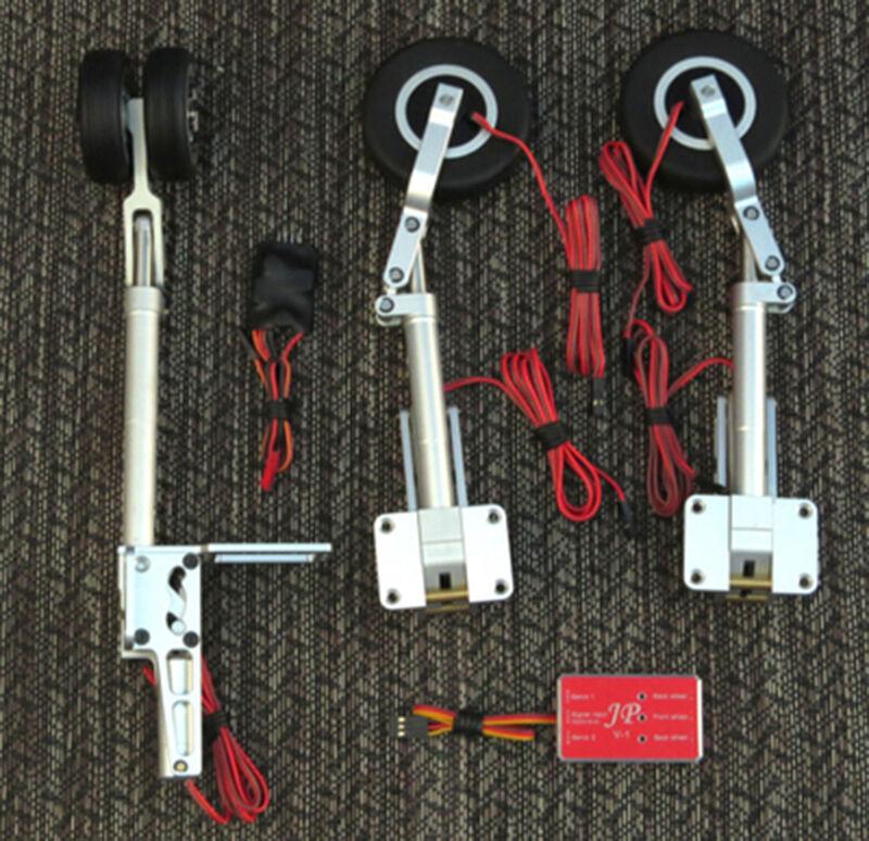 JP doble rueda 12 mm controlador de montaje retirar Gear 7-12 kg RC modelo de ala fija