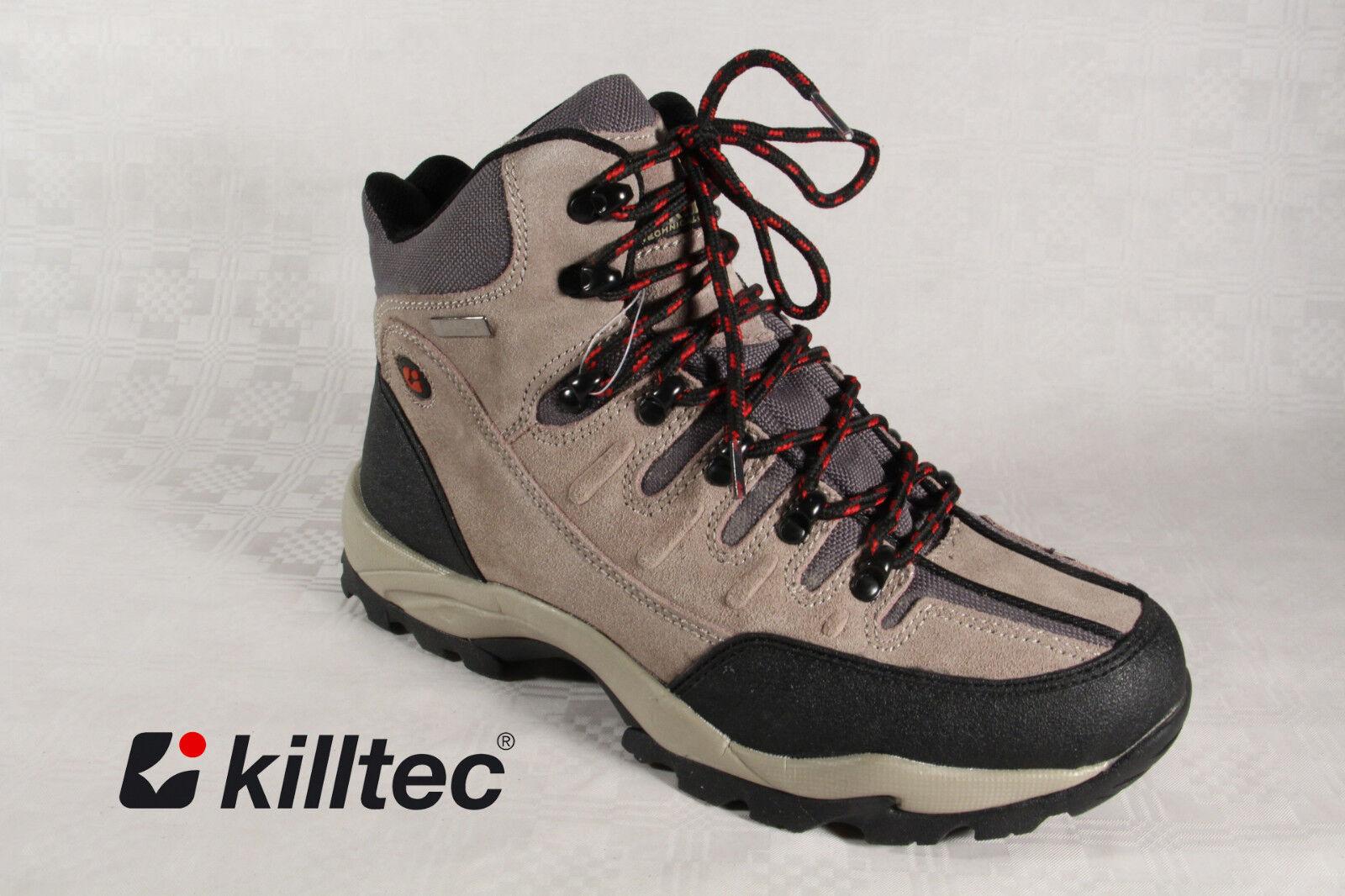 Killtec Ladies Hiking shoes Hiking Boots TEX BEIGE   Brown NEW