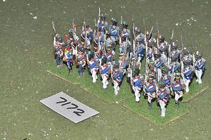 25mm/Francese Napoleonico-VECCHIA GUARDIA 36 Fichi in metallo verniciato-INF (7172)