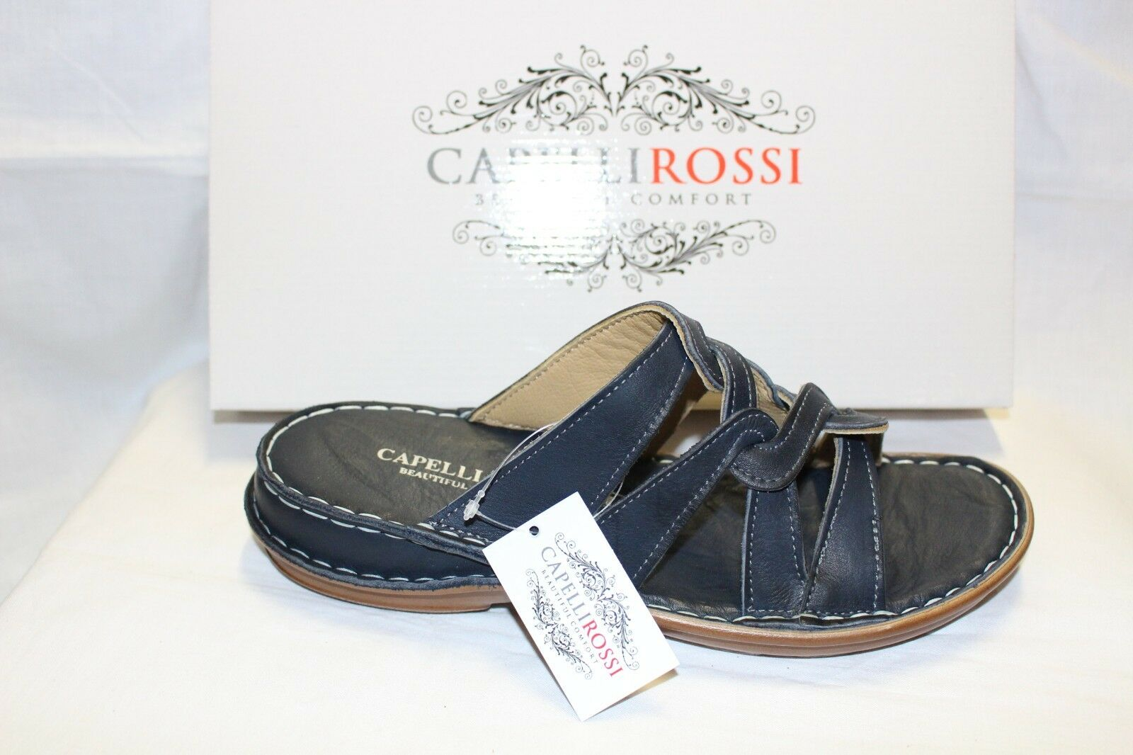 LADIES scarpe FOOTWEAR - Capelli Rossi scuff 323 navy