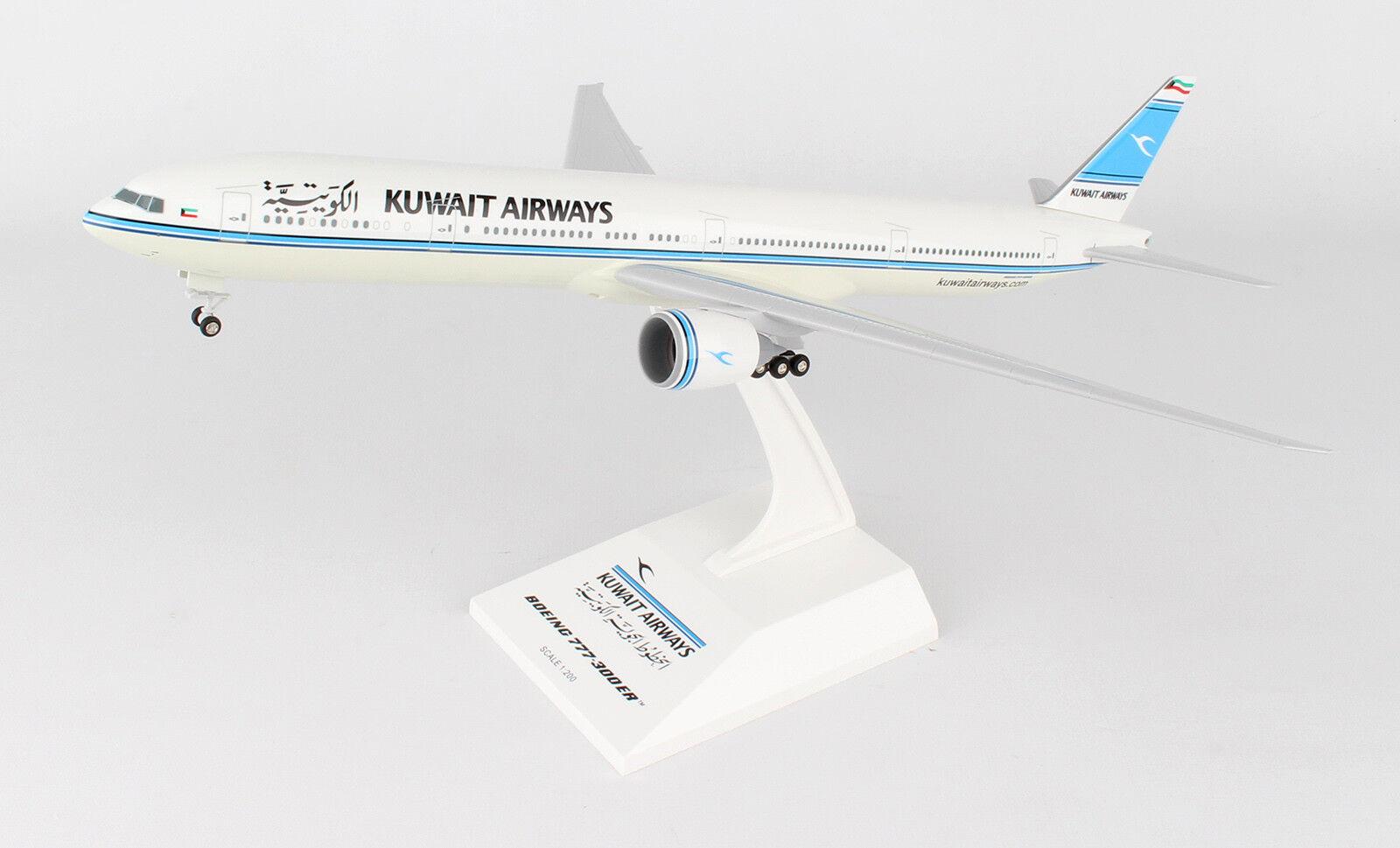 SkyMarks Kuwait Airways Boeing 777-300ER SKR891 1 200 W Gear, New
