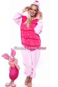 12f977506239 Pink Piglet Oneise Winnie The Pooh Kigurumi Cosplay Unisex Animal ...