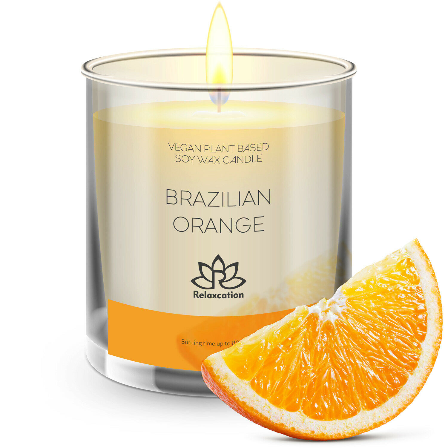 Levitate Amber And Orange Luxury Scented Candle Soy Blend 10 Oz For Sale Online Ebay