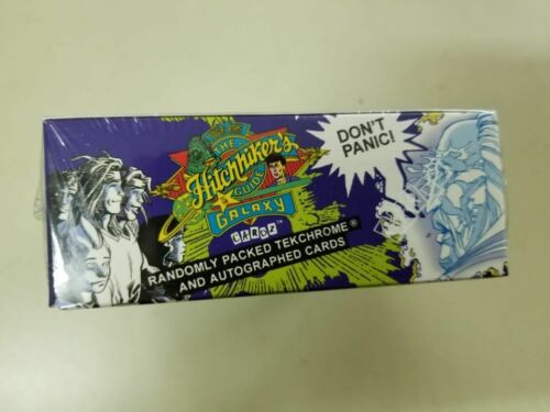 1994 The Hitchhikers Guide to the Galaxy Trading Cardz Factory Sealed Box