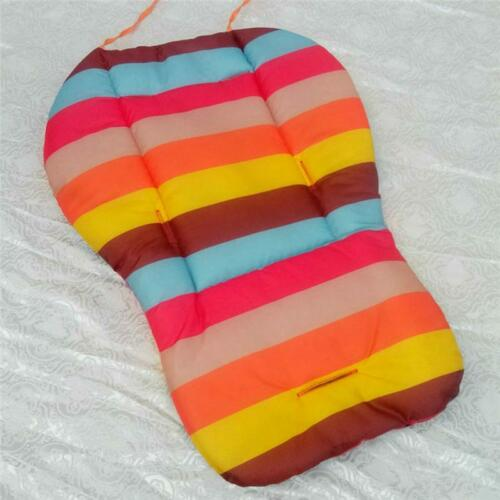 Baby Infant Car Seat Stroller Cushion Rainbow Pad Body Support Pillow Cover Mat