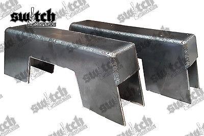"""Step Notch 1963-1972 10 Inch 8 Piece Frame CNotch Weld In 10/"""" C10 C Notch"""