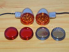 Kuryakyn 5413 smoke rear LED turn signal inserts harley dyna touring sportster