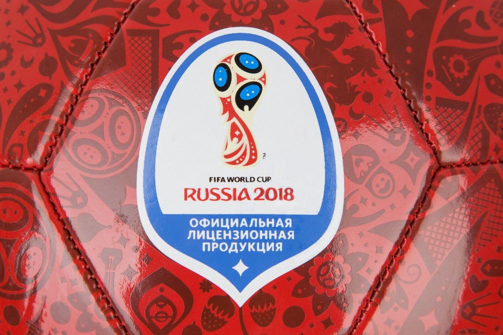 2018 FIFA WORLD CUP SOCCER BALL BIG RUSSIA ZABIVAKA ZABIVAKA ZABIVAKA SOUVENIR dd841f