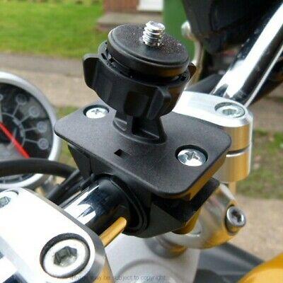 "Knap Adjustable Camera Video 1/4"" Threaded Motorcycle Handlebar Mount 16mm To 33mm 50% Korting"