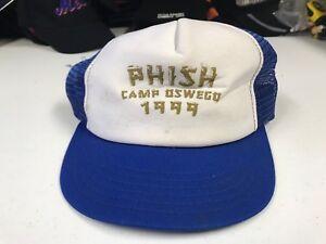 Image is loading Phish-Camp-Oswego-Trucker-Hat-READ-ENTIRE-DESCRIPTION 72e90b720567